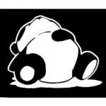 Sleeping-panda-