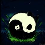 panda yingyang