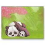 sleeping_panda_postcard